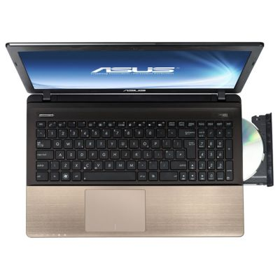 Ноутбук ASUS K55A Smoky Black 90N89A614W6722XD43AY