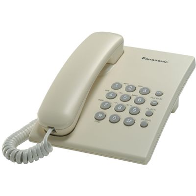 Телефон Panasonic проводной KX-TS2350RUJ бежевый